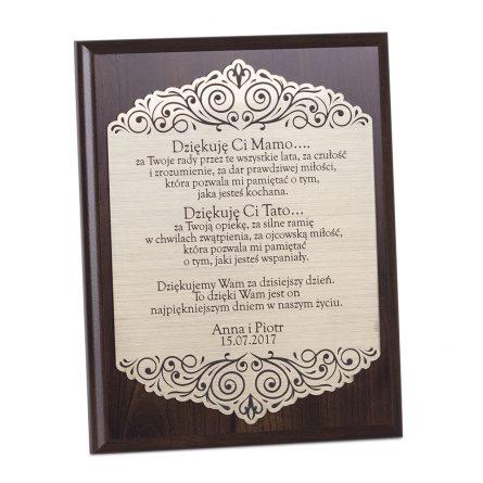 Dyplomy grawerowane