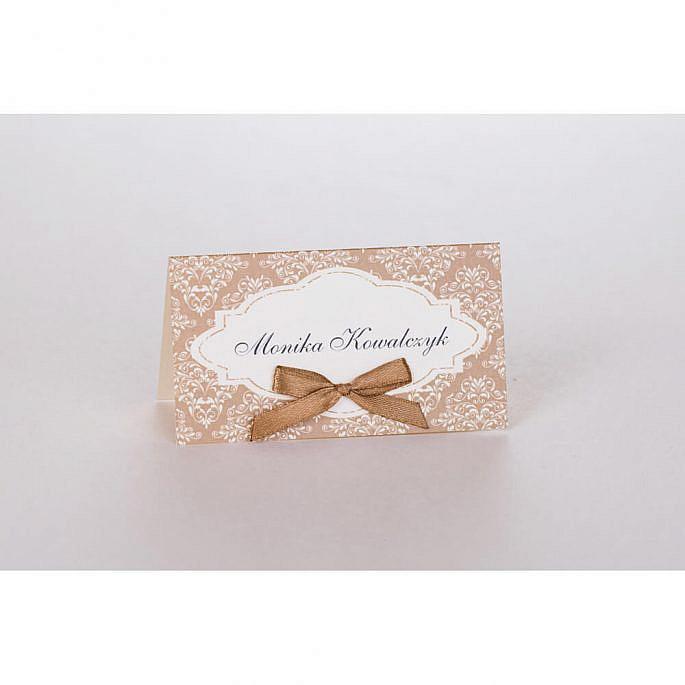Winietka wizytówka na stół weselny personalizacja