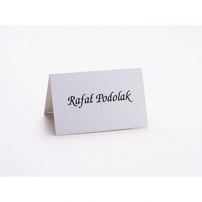 Winietki wizytówki na stół informacja dla gości weselnych personalizacja
