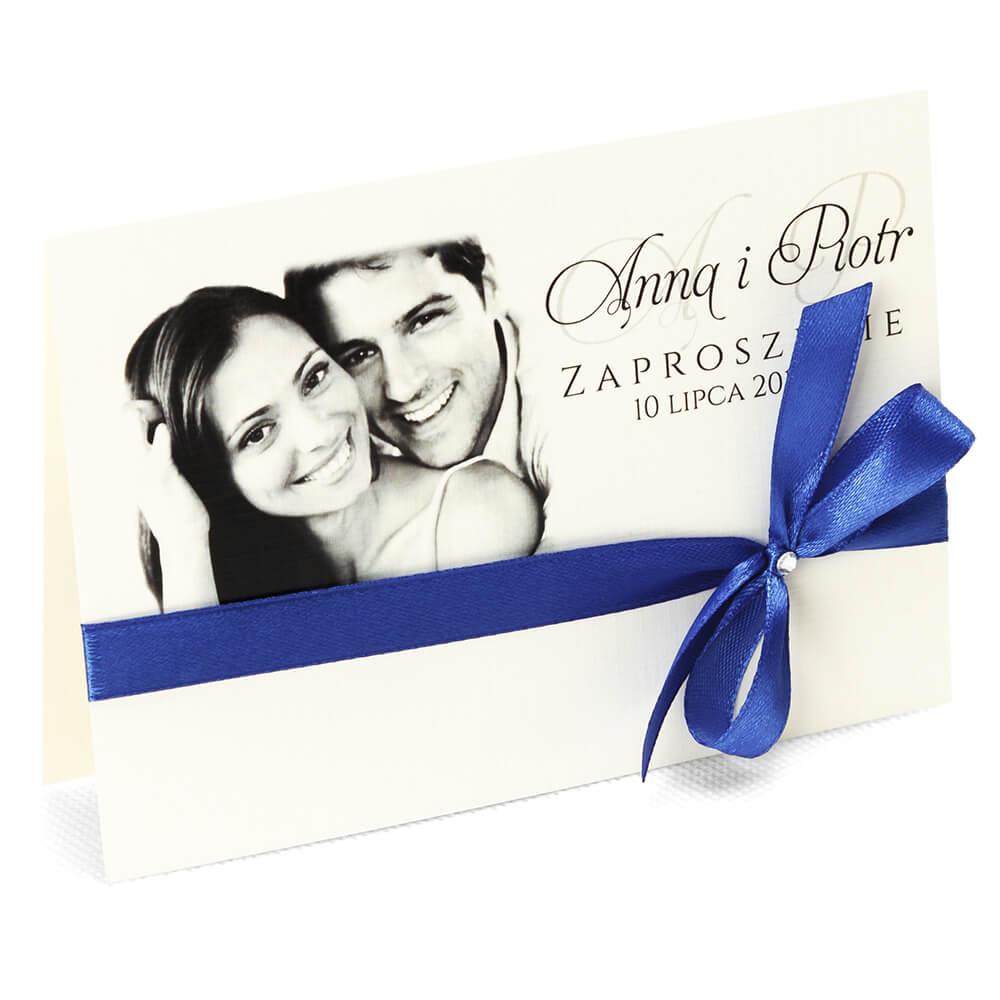 Zaproszenia ślubne Ze Zdjęciem Młodej Pary Bonita