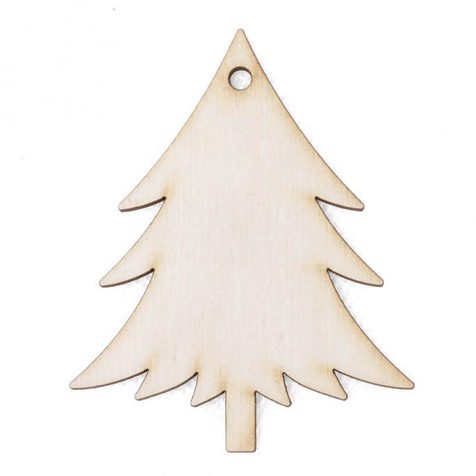 Drewniana ozdoba zawieszka na choinkę święta Boże Narodzenie