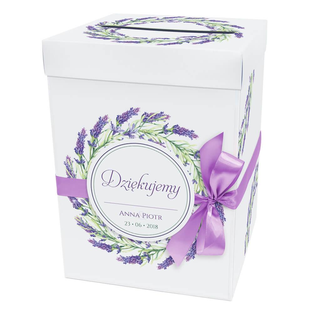 Pudełko Na Koperty Z Kwiatem Peonii Artma
