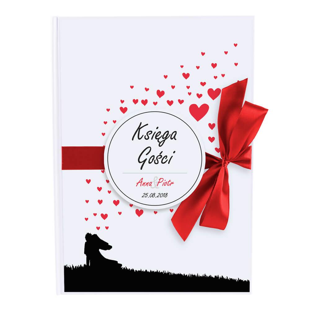 Księga gości weselnych na wpisy życzenia
