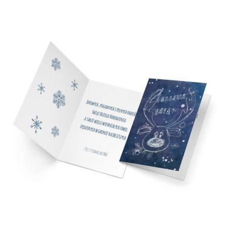 kartka świąteczna format c6 firmowa