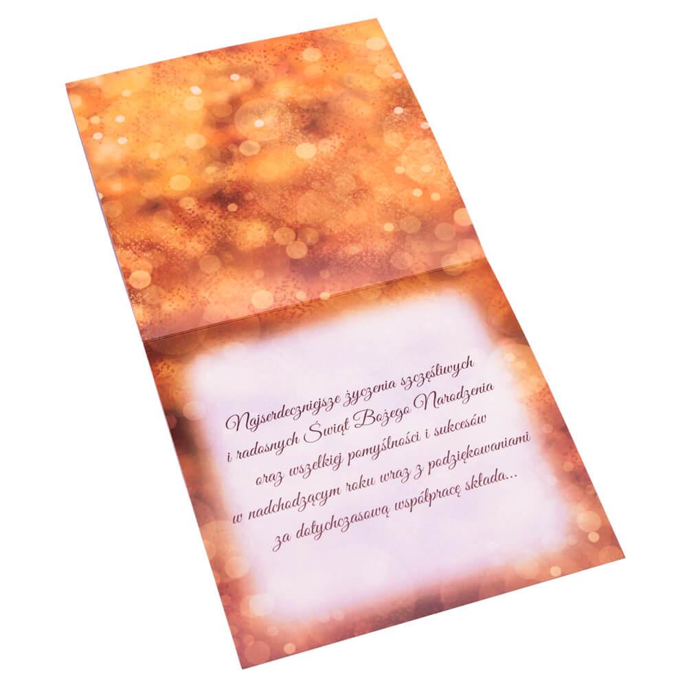 Kartka świąteczna dla firmy