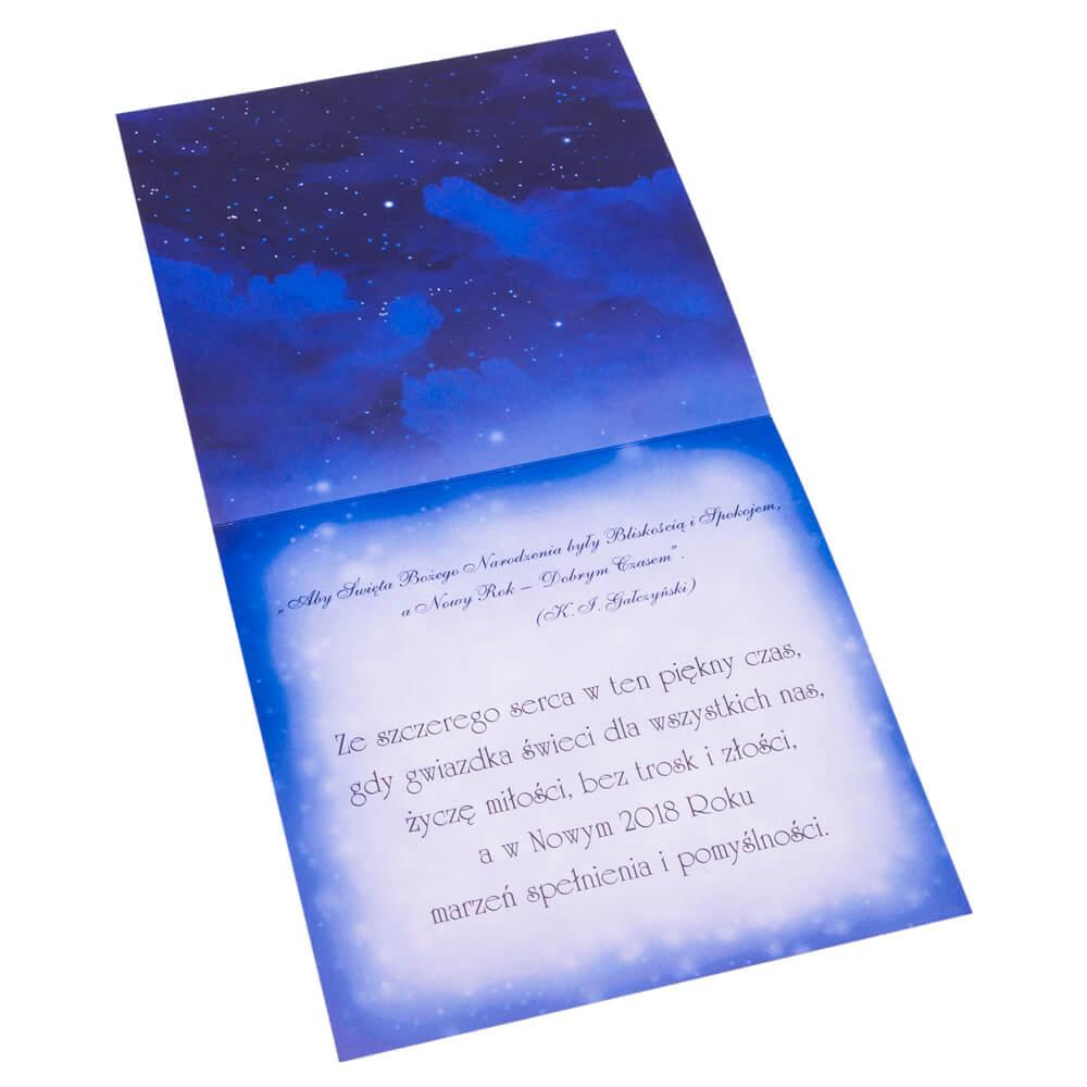 Świąteczna kartka boże narodzenie życzenia