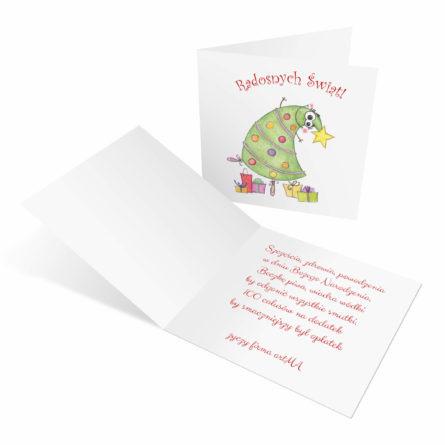 kartki świąteczne dla firm