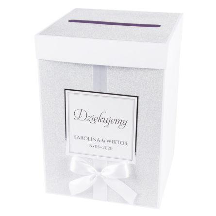 pudełko na koperty w stylu glamour