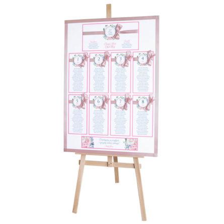 Plan stołów weselnych Florals w11
