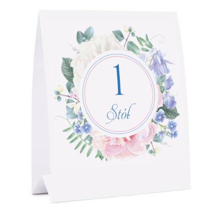 Numer na stół Florals w11