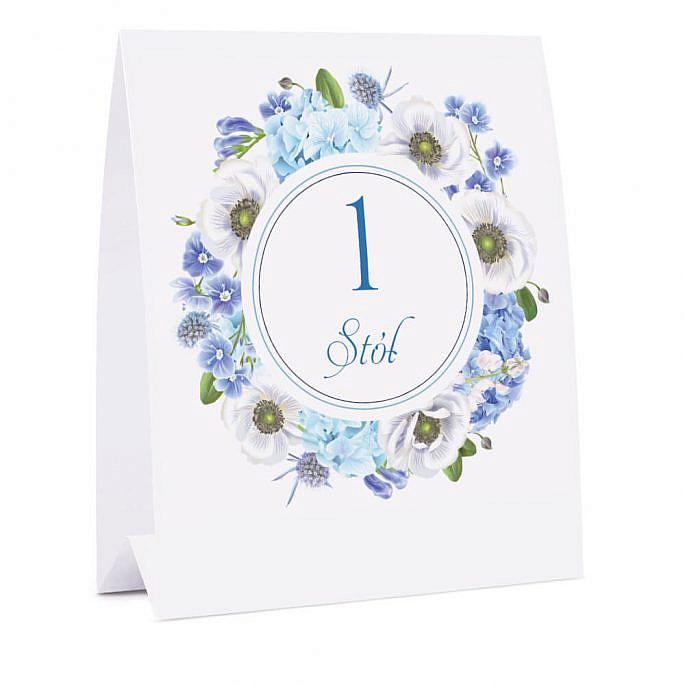 Numer na stół Florals w12