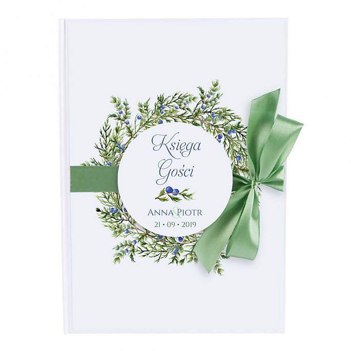 księga na wpisy gości weselnych 50 kartek do zapisania