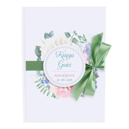 księga na wpisy pamiątka ze ślubu