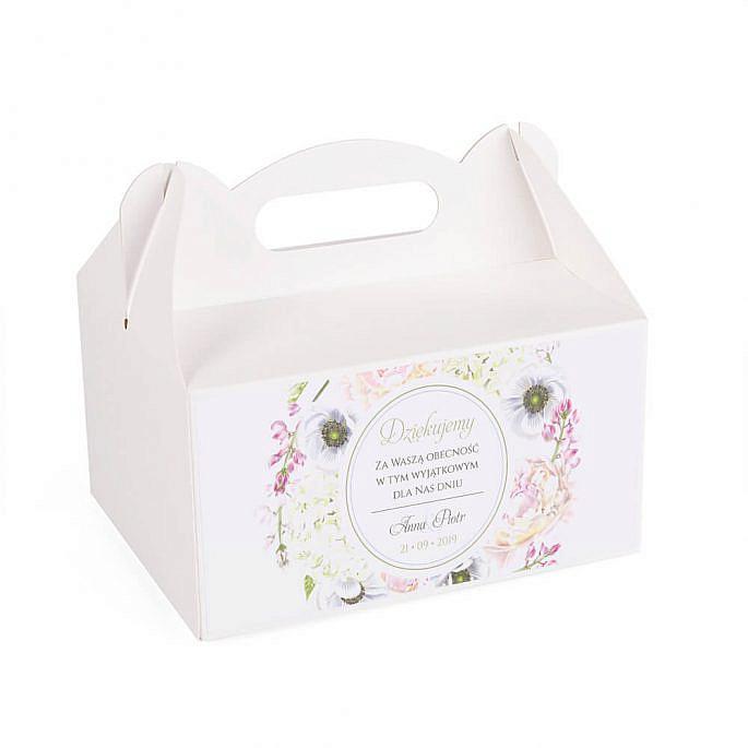 Pudełko na ciasto Florals w10