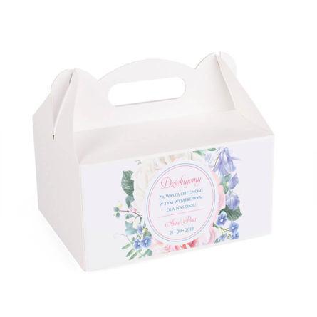 Pudełko na ciasto Florals w11