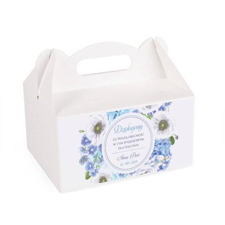 Pudełko na ciasto Florals w12