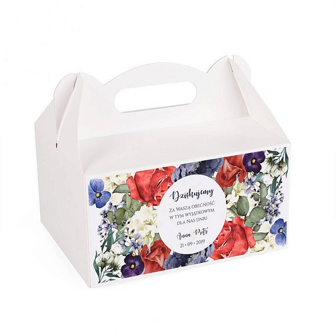 Pudełko na ciasto Flowery