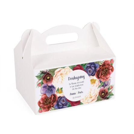Pudełko na ciasto Flowery w2