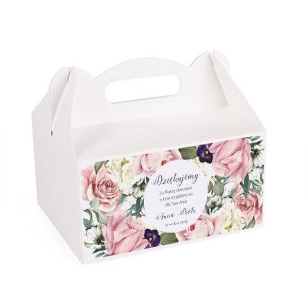 Pudełko na ciasto Flowery w3