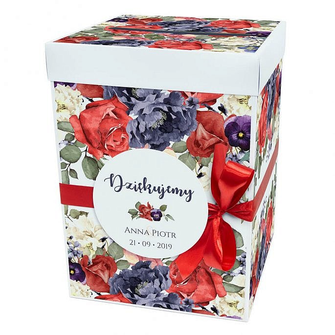 Pudełko na koperty Flowery
