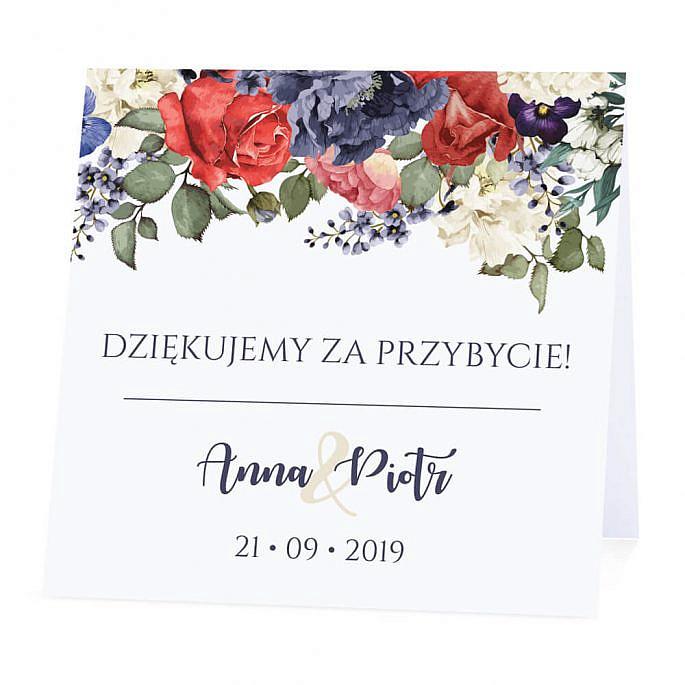 Winietka weselna Flowery