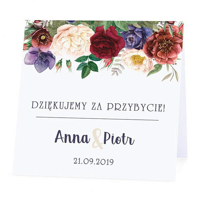Winietka weselna Flowery w2