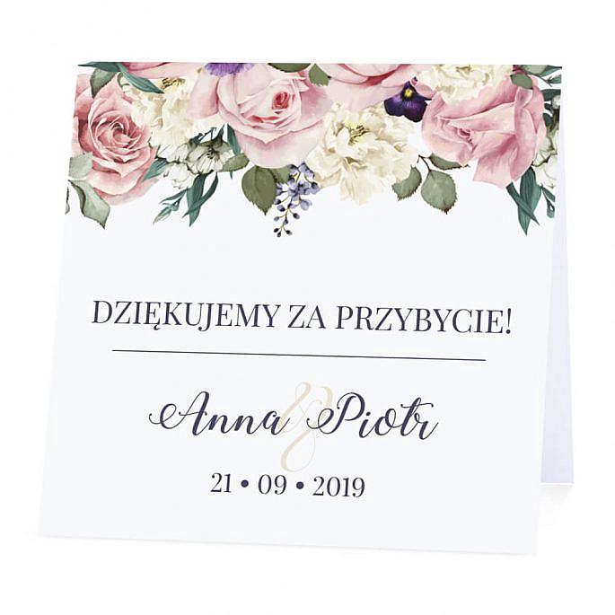 Winietka weselna Flowery w3
