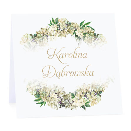 Winietka weselna z kwiatami bzu w2