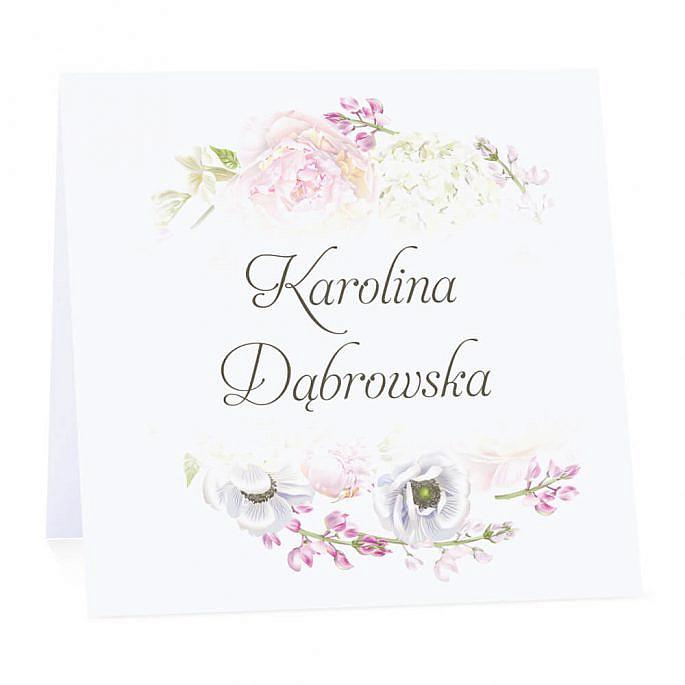 Winietka weselna Florals w10