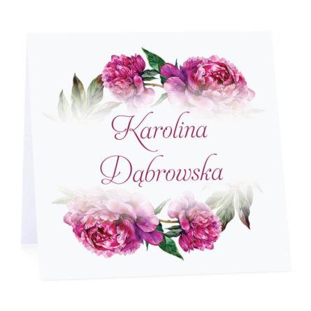Winietka weselna z kwiatami piwonii w14