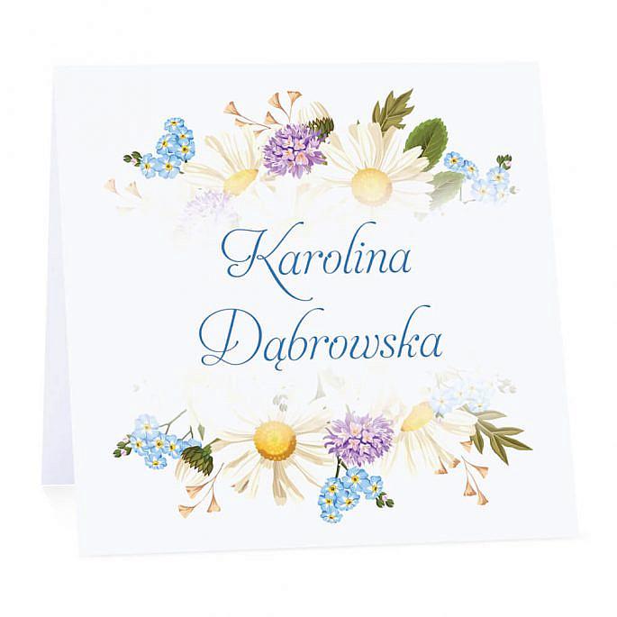Winietka weselna z kwiatami polnymi w2