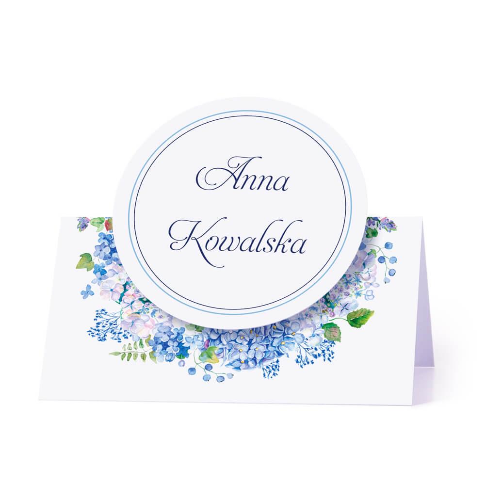 Winietka weselna z kwiatami hortensji w4