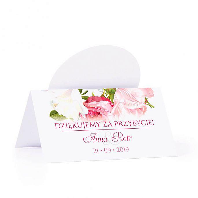 Winietka weselna z kwiatami piwonii w12