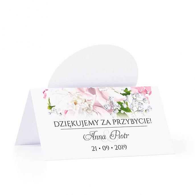 Winietka weselna z kwiatami piwonii w13