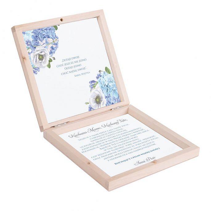 Podziękowanie w drewnianym pudełku Florals w10Podziękowanie w drewnianym pudełku Florals w12