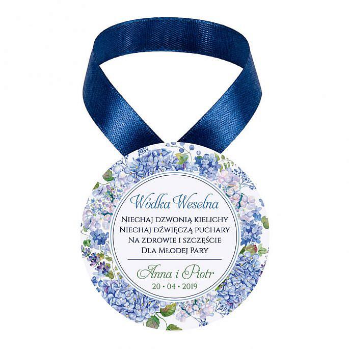 Zawieszki na alkohol z kwiatami Hortensji w4
