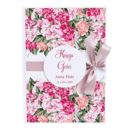 Księga gości Flowery wzór 5