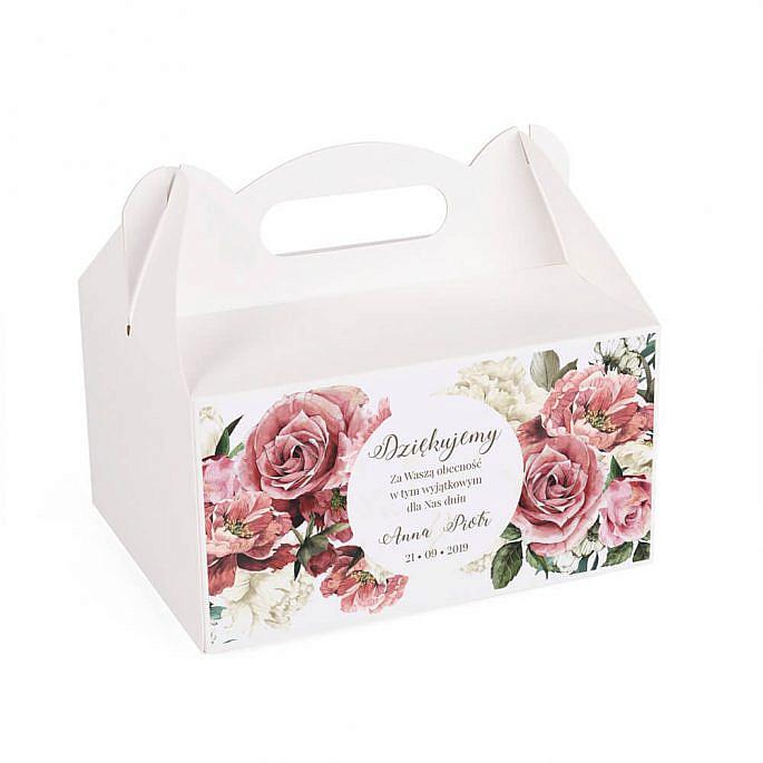 Pudełko na ciasto Flowery w4