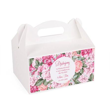 Pudełko na ciasto Flowery w5