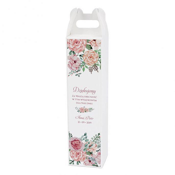 Pudełko na alkohol Florals w2