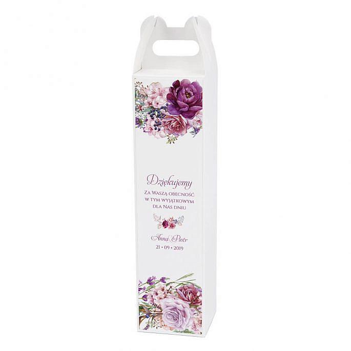 Pudełko na alkohol Florals w3