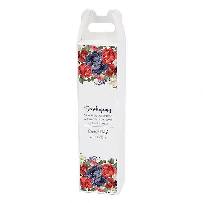 Pudełko na alkohol Flowery