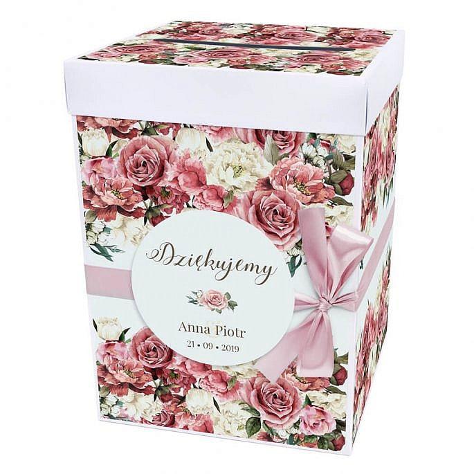 Pudełko na koperty Flowery w4