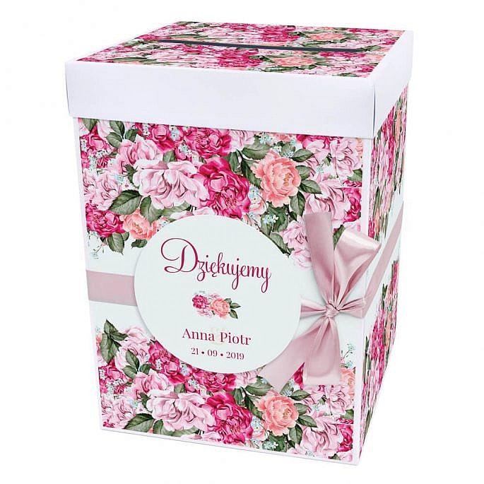 Pudełko na koperty Flowery w5