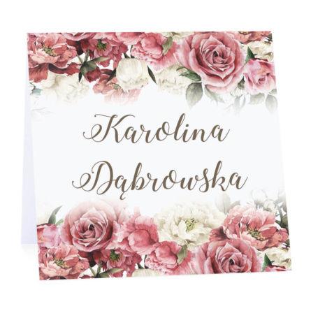 Winietka weselna Flowery w4 m2
