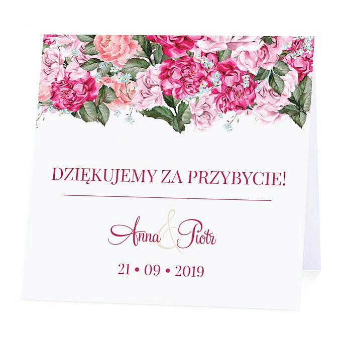 Winietka weselna Flowery w5 m2
