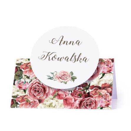 Winietka weselna Flowery w4