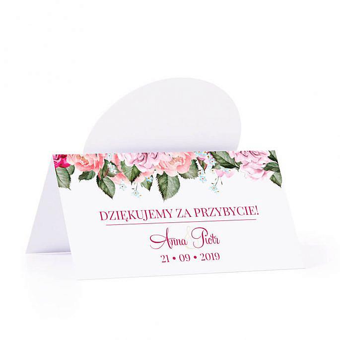 Winietka weselna Flowery w5