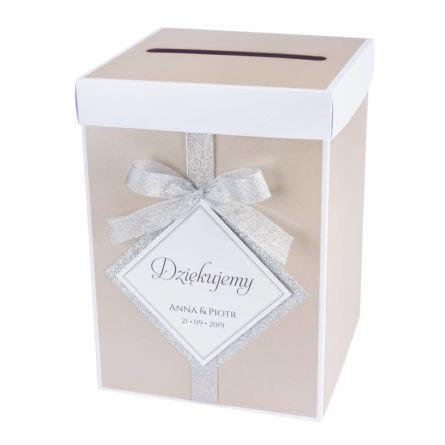 Pudełko na koperty Glamour w2