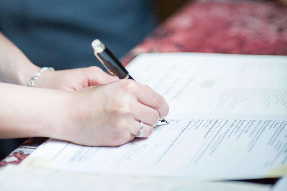 składanie podpisu wkościele jak zorganizować wesele